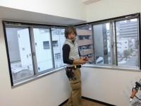 大阪市浪速区 窓リフォーム プラマード取付工事