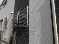 神戸市中央区 窓リフォ 面格子取付工事