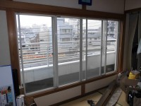 窓リフォの窓リフォーム 兵庫県西宮市 プラマード取付工事