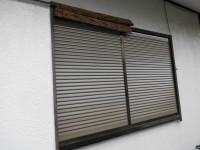 大阪府泉南市 窓リフォの窓リフォーム 雨戸取替え工事
