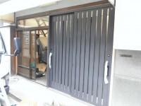 窓リフォの玄関リフォーム 堺市堺区 玄関取替え工事