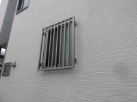 リフォの窓リフォーム 大阪府枚方市 高強度面格子・後付けシャッター取付け工事