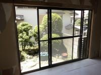 リフォの窓リフォーム 奈良県生駒市 窓取替え+勝手口改造