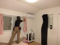 リフォの窓リフォーム 大阪府八尾市 目隠し可動ルーバー、内窓取付け工事