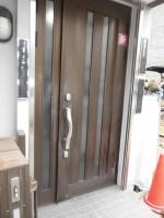 リフォの玄関ドアリフォーム 大阪市中央区 玄関ドア修繕工事