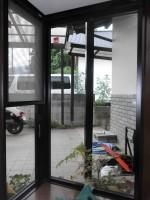 リフォの窓リフォーム 大阪府箕面市 防犯ガラス・面格子・雨戸工事
