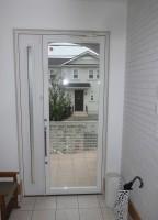 リフォの玄関リフォーム 兵庫県宝塚市 ドア本体取替え工事