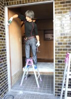リフォのドアリフォーム 大阪府八尾市 玄関ドア取替え(リシェント)工事