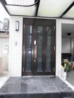 リフォの玄関ドアリフォーム 大阪市平野区 リシェント(玄関ドア取替え)工事