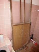 リフォのドアリフォーム 堺市西区 浴室ドア取替え工事