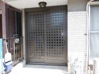 リフォの玄関リフォーム 大阪府羽曳野市 玄関引き戸取替え(リシェント)工事