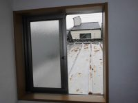 リフォの窓の防犯リフォーム 大阪市西区 面格子取付、防犯ガラス入替工事