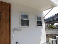 リフォの窓リフォーム 高槻市 鋳物面格子、目隠しルーバー取付工事