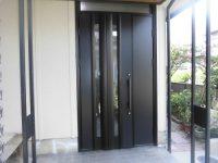 リフォの玄関リフォーム 枚方市 玄関ドア取替え(カバー工法)ドアリモ工事