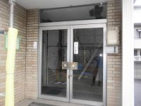 リフォのドアリフォーム 西成区 エントランスドア取替え(カバー工法)工事