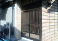 リフォの玄関ドアリフォーム 柏原市 ドアリモ取付工事