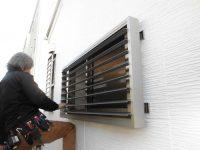 リフォの窓リフォーム 枚方市 目隠し可動ルーバー取付工事