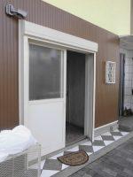 リフォの防犯リフォーム 淀川区 面格子・シャッター・庇取付工事