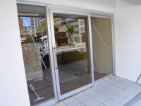 リフォのサッシ新設工事 大阪市浪速区 ショップフロント取付工事