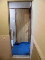 リフォのドアリフォーム 大阪市東成区 浴室ドア取替え工事