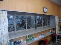 リフォのサッシリフォーム 尼崎市 引戸改修、ドア取替え工事