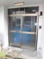 リフォのドアリフォーム 大阪市西成区 玄関引戸取替え工事