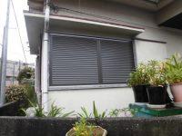 リフォの窓リフォーム 豊中市 雨戸取替え工事