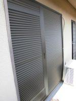 リフォの窓リフォーム 宝塚市 雨戸(可動ルーバー)取替え工事